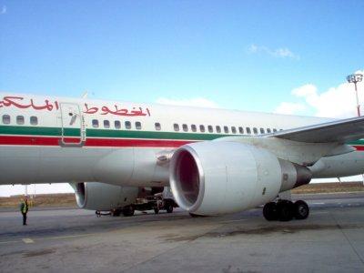 L'avion pour aller à Agadir (Maroc), à l'occasion du GNU/Linux Days 2008