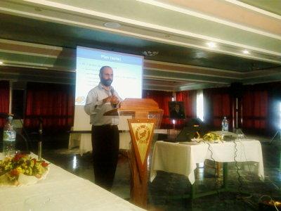 Conférence de Tarik Fdil, sur Asterisk, à l'occasion du GNU/Linux Days 2008