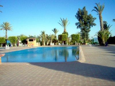 La piscine du COS-ONE d'Agadir (Maroc). C'est à l'occasion du GNU/Linux Days 2008 !