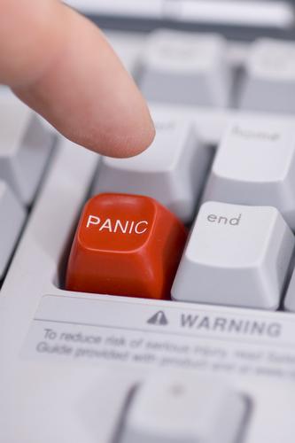 Panic Button Chrome