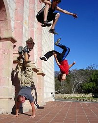 Freerun, Los-Angeles (discipline comme Parkour)