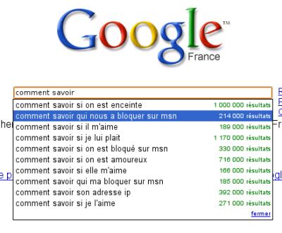 Google Suggest : Comment Savoir ?