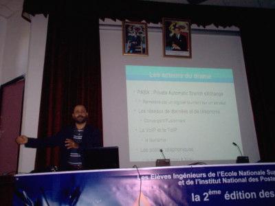Conférence de Tarik Fdil - Open Source Days 2008 - Asterisk, IPBX, VOIP