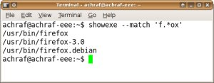 showexe.py : script Python pour chercher et trouver des fichiers exécutable !