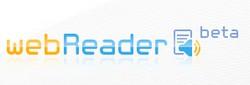 Logo de Webreader Readspeaker